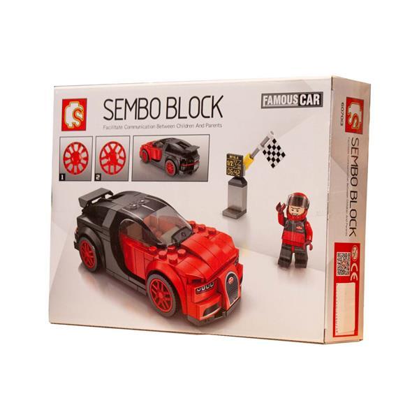 لگو ماشین مسابقه ای Sembo...