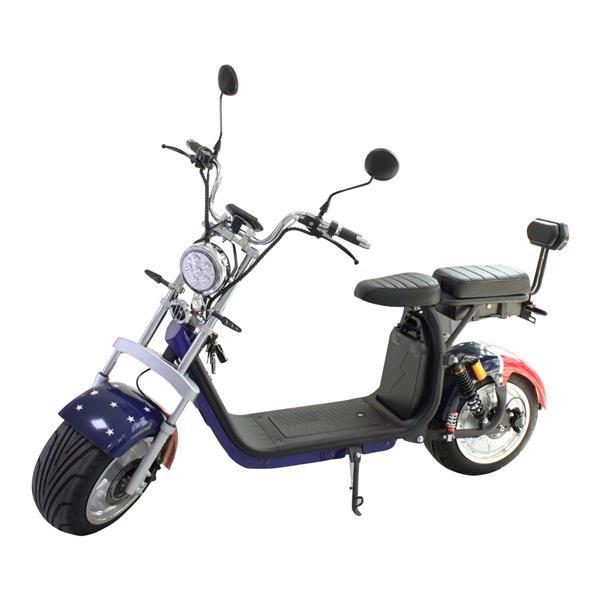 موتور سیکلت برقی طرح هارل...
